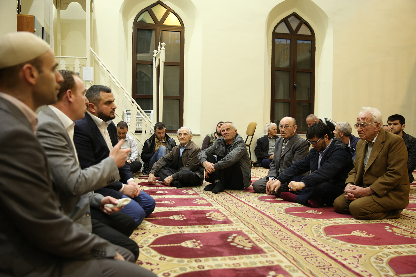 """""""Bukuritë e Besimit Islam"""" në xhaminë e Kokonozit, Tiranë"""