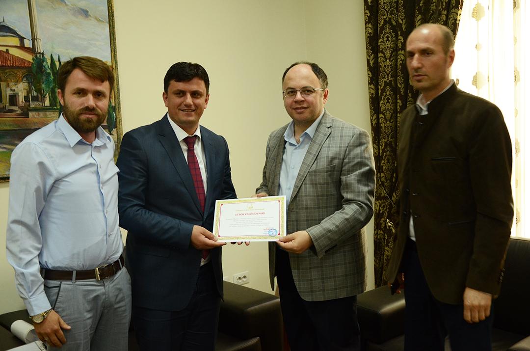 Kryetari Bruçaj vlerëson shoqatën Istanbul