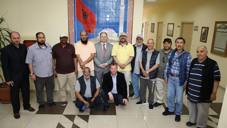 Kryetari Bruçaj pret një delegacion nga Kuvajti