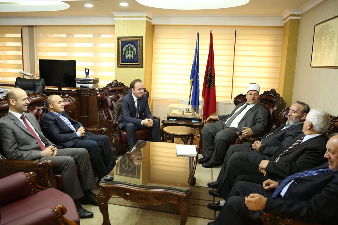 Vizitë pune në Bashkësinë Islame të Kosovës
