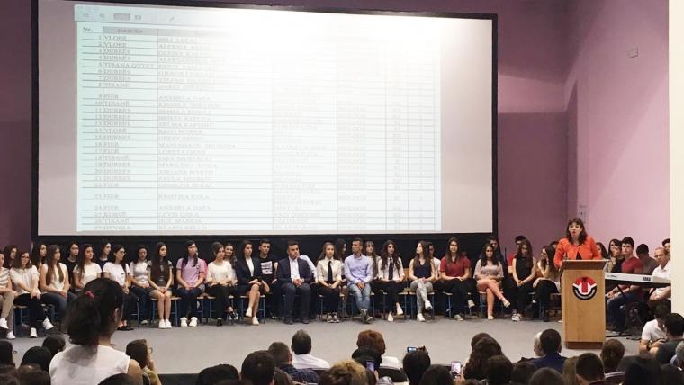 Nxënësit fitues në olimpiadat kombëtare 2016