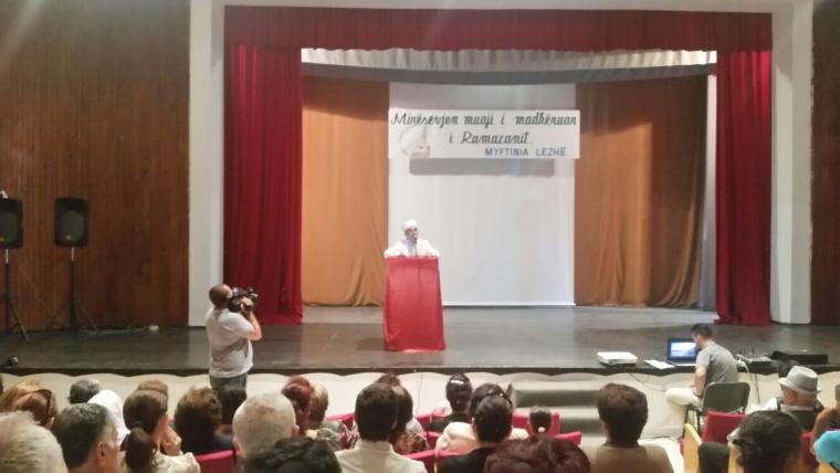 Lezhë, simpozium me rastin e fillimit të Ramazanit