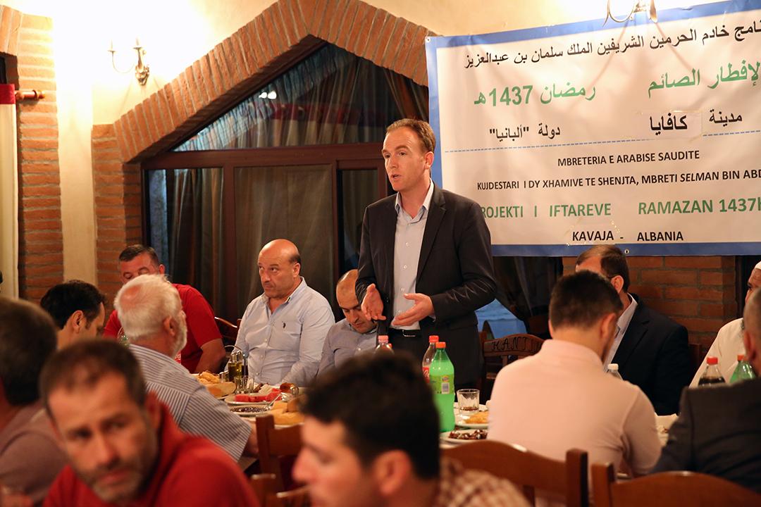 Myftinia Kavajë shtron iftar