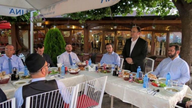 Myftinia Shkodër, iftar me myftininë e Prizrenit dhe Ulqinit