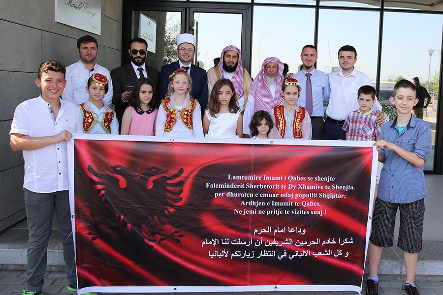 Imami i Qabes përfundon vizitën e tij në Shqipëri