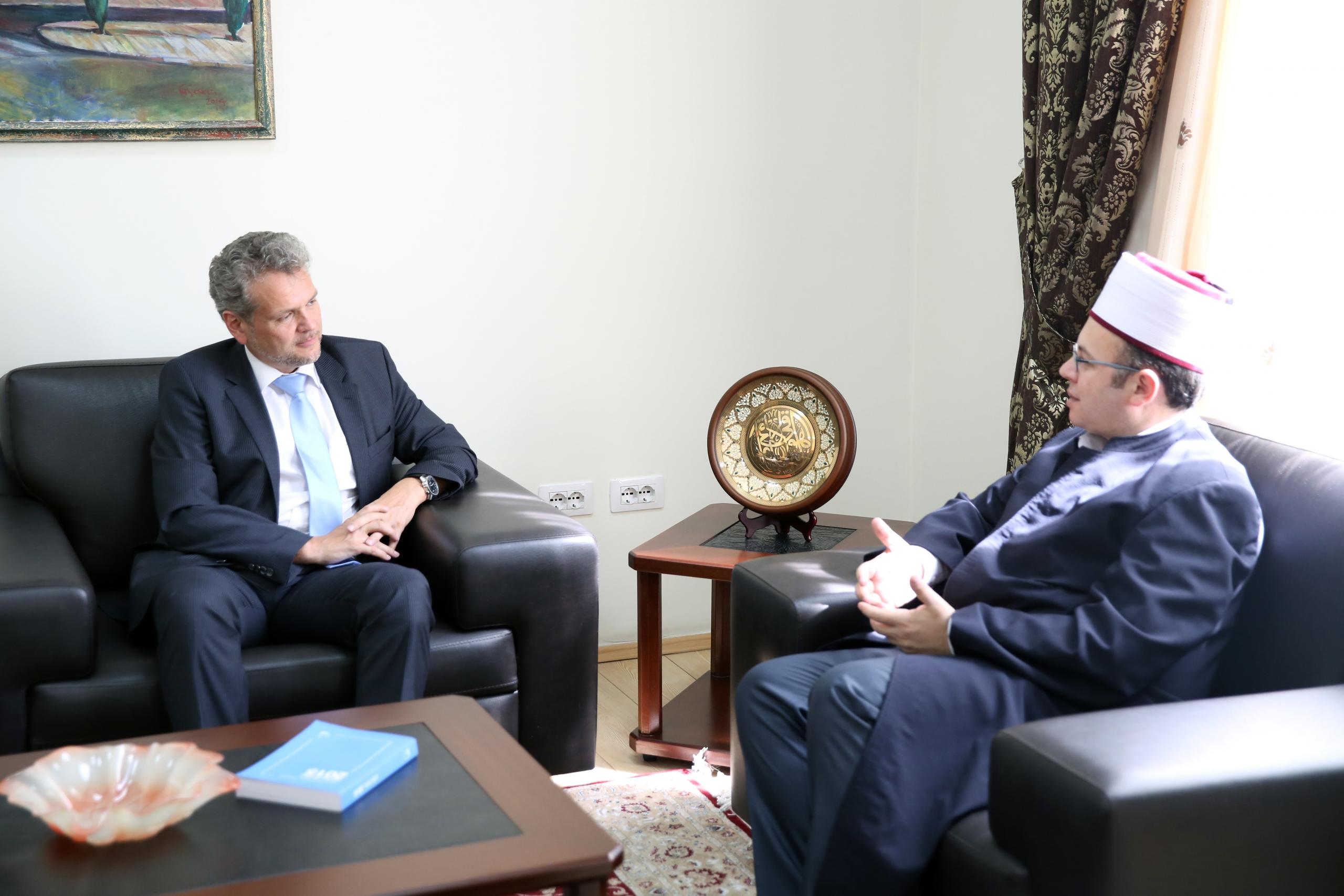 Ambasadori i Austrisë viziton KMSH-në