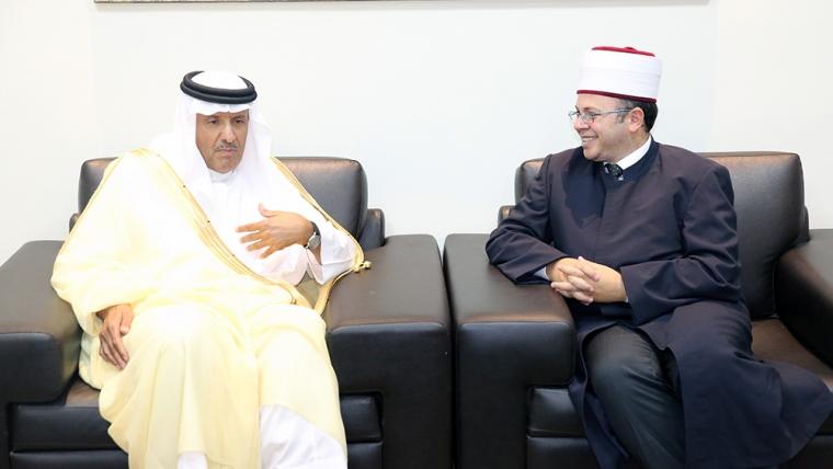 Princi i Arabisë Saudite vizitë zyrtare në KMSH