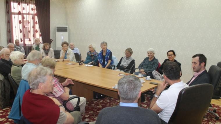 Një grup studiuesish gjermanë, vizitë në KMSH