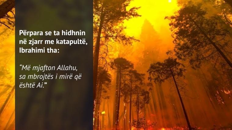NGJARJE / Dhe zjarri u ftoh…