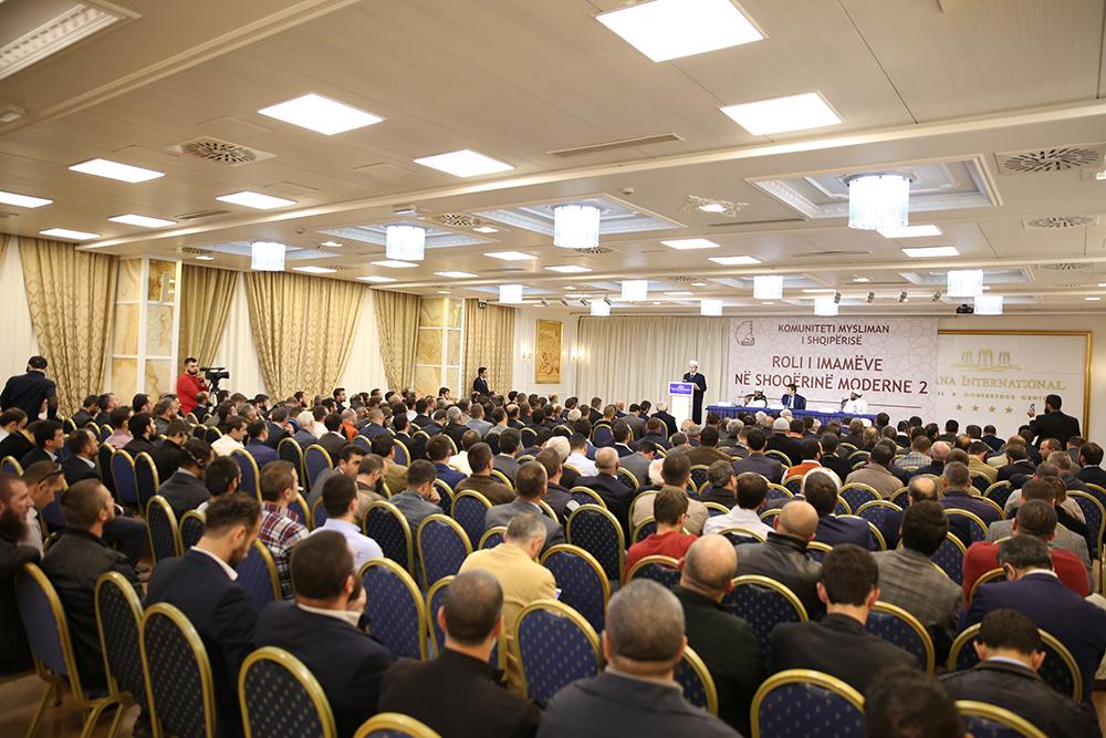 """Zhvillohet konferenca e dytë """"Roli i imamëve në shoqërinë moderne"""""""