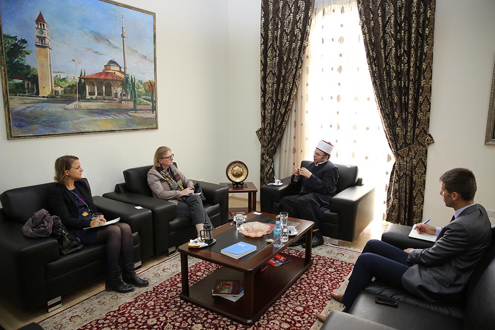 Kryetari Bruçaj pret ambasadoren e re të Gjermanisë