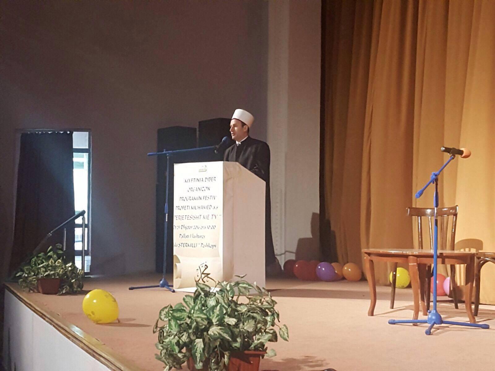 Myftinia e Dibrës, program në përkujtim të Profetit Muhamed a.s.