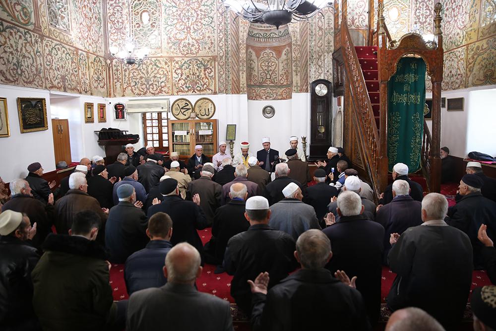 Xhamia Et'hem Beu përkujton Profetin Muhamed a.s