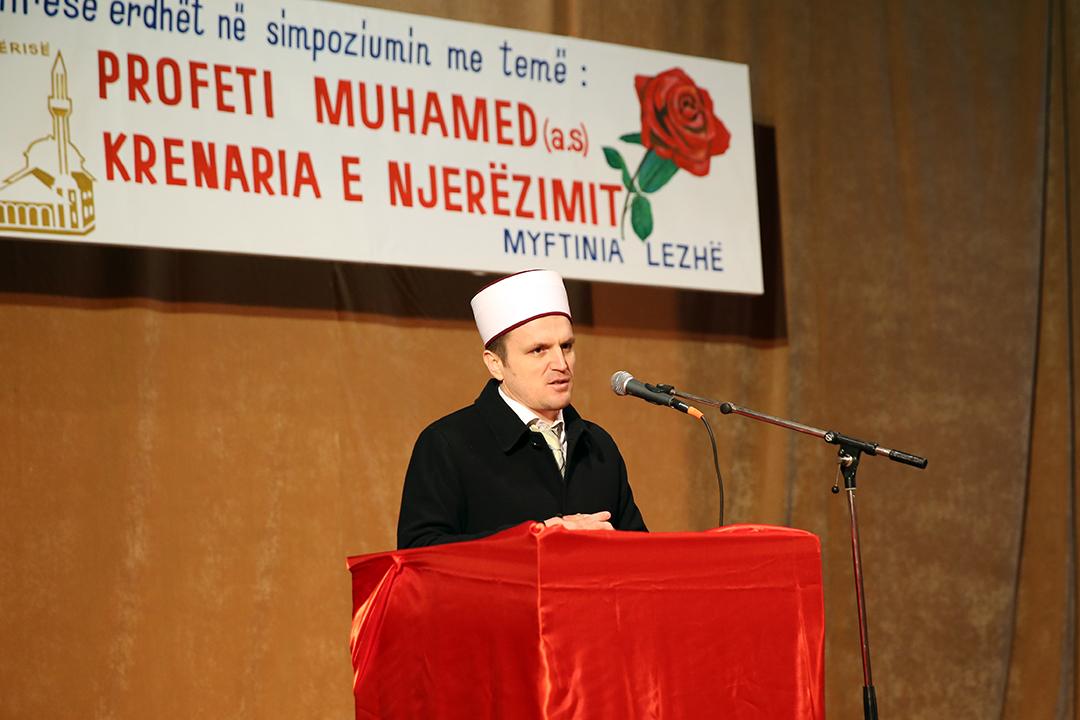 Myftinia Lezhë, program për Profetin Muhamed a.s.