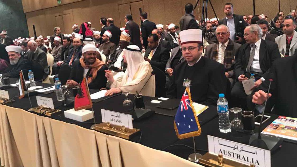 Kryetari i KMSH-së merr pjesë në Konferencën Ndërkombëtare në Egjipt