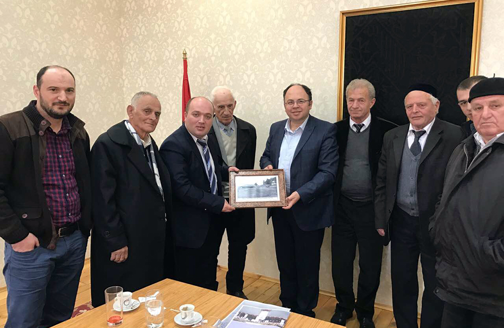 Kryetari i KMSH-së takim me përfaqësues të Myftinisë së Pukës