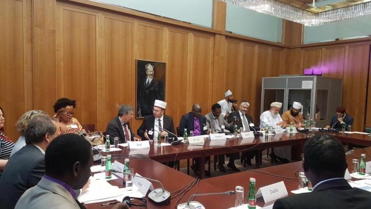 """Gjermani, kreu i KMSH-së merr pjesë në konferencën """"Përgjegjësia e feve për paqen"""""""