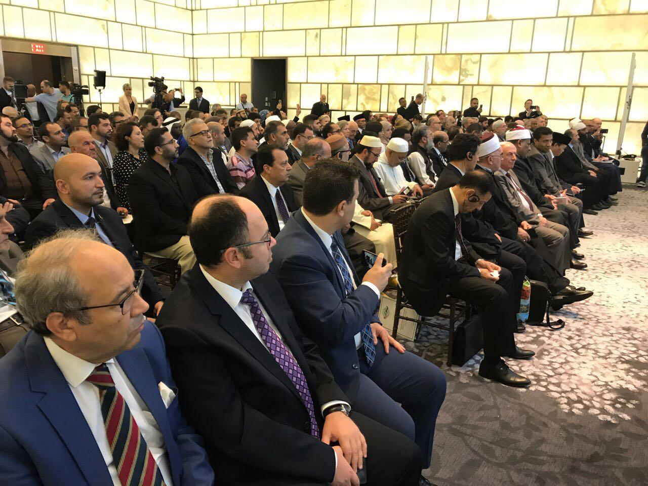 SHBA, kreu i KMSH-së merr pjesë në konferencën e Lidhjes Botërore të Myslimanëve