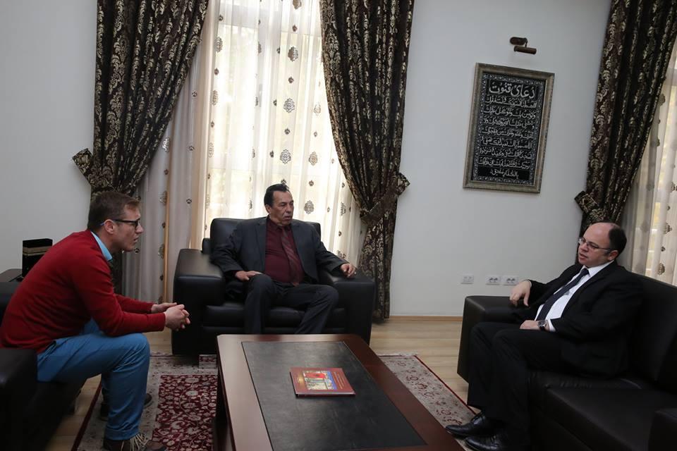 Kreu i KMSH-së pret për vizitë ambasadorin e Libisë