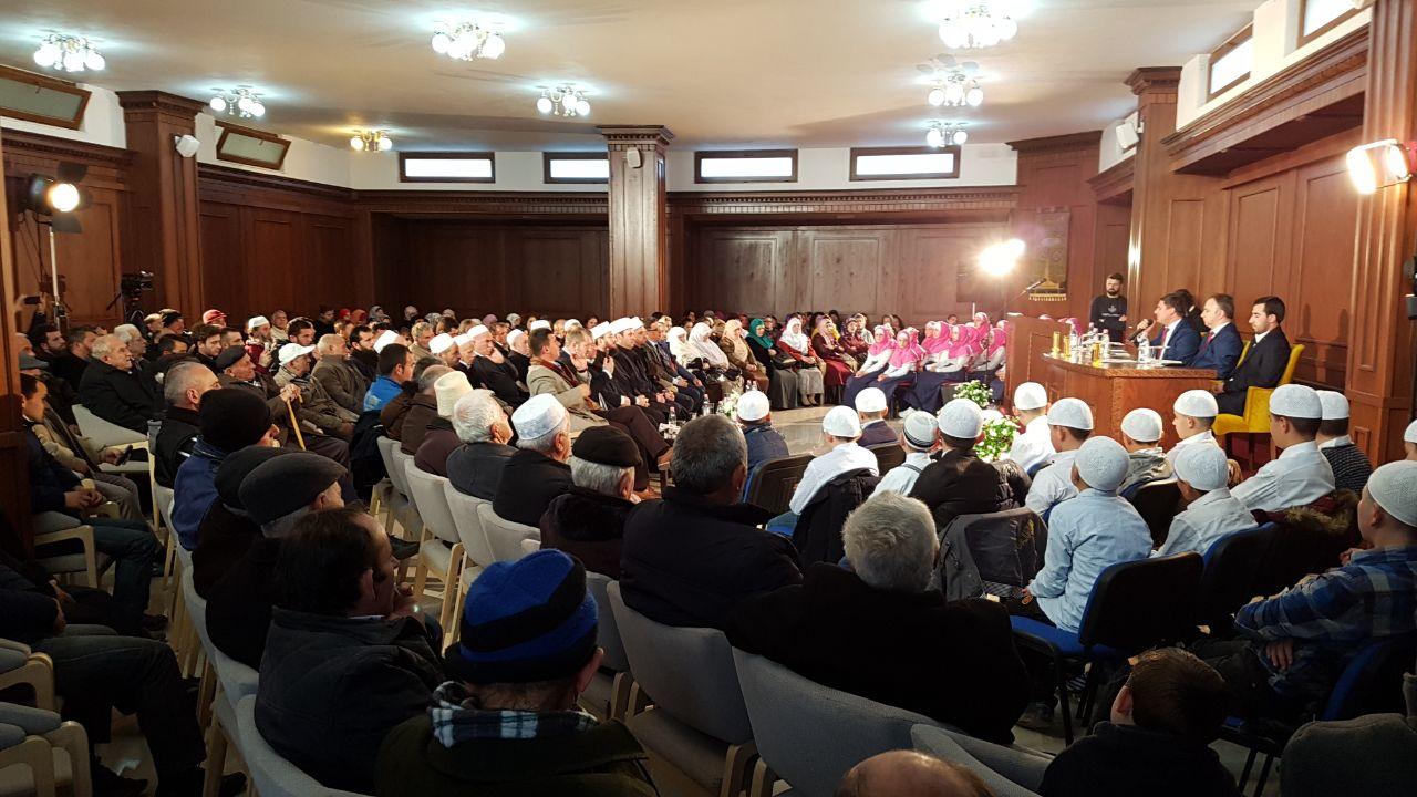 Program për Profetin Muhamed a.s në Xhaminë e Golemit