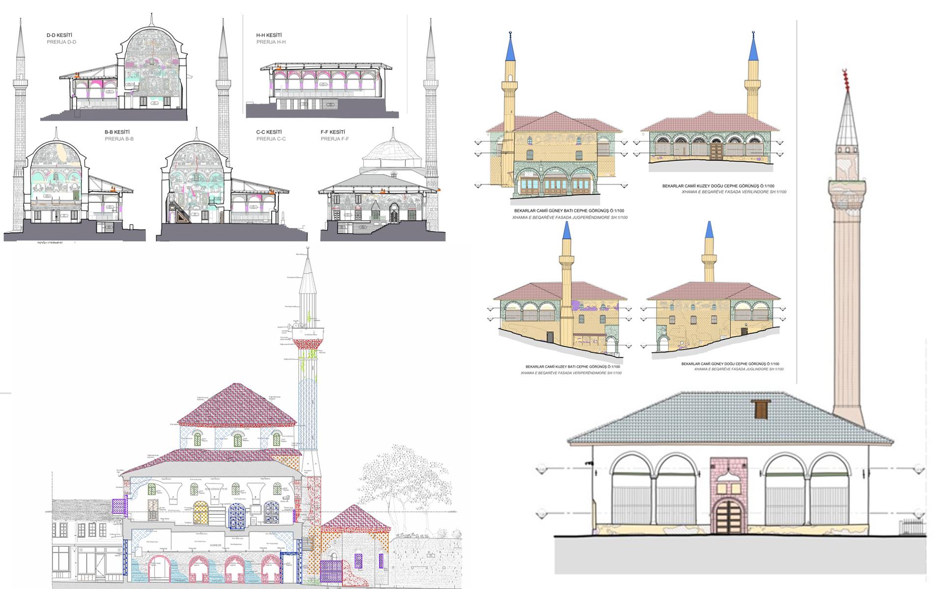 Njoftim për fillimin e restaurimit të disa xhamive monumentale në vend