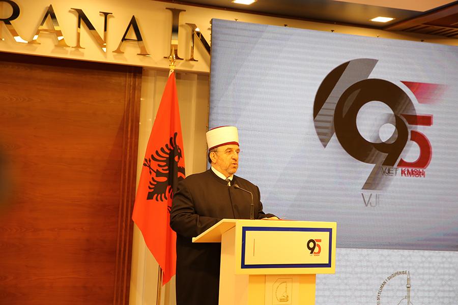 Fjala e myftiut të Kosovës, Naim ef. Tërnava në 95-vjetorin e themelimit të KMSH-së