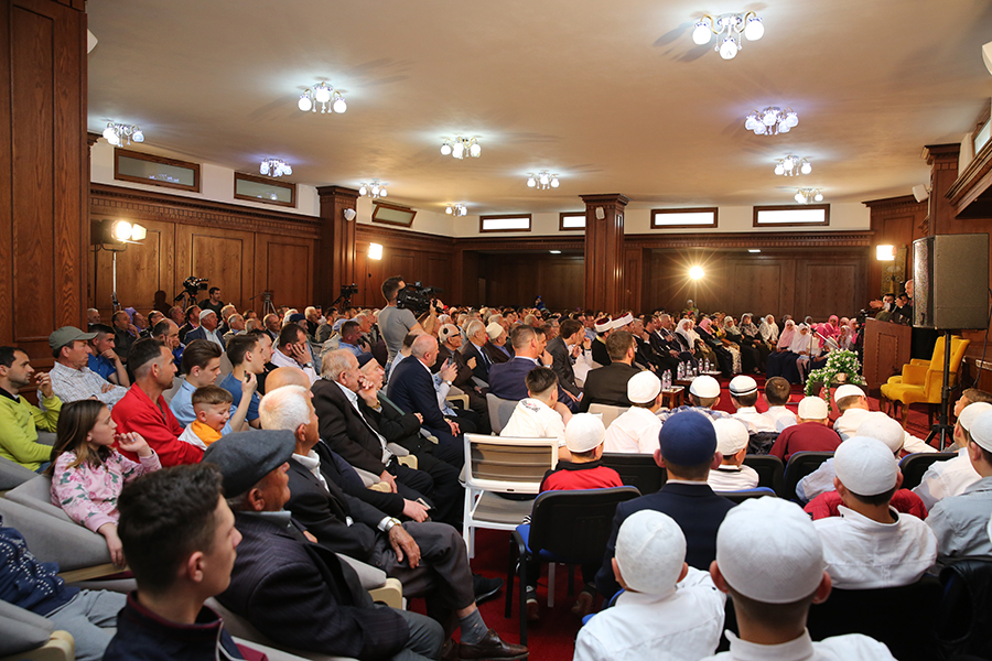Program për Isranë dhe Miraxhin në Xhaminë e Golemit
