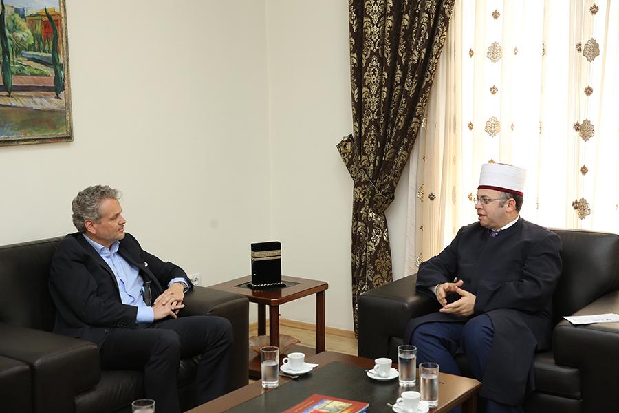 Kryetari i KMSH-së takim me ambasadorin e Austrisë