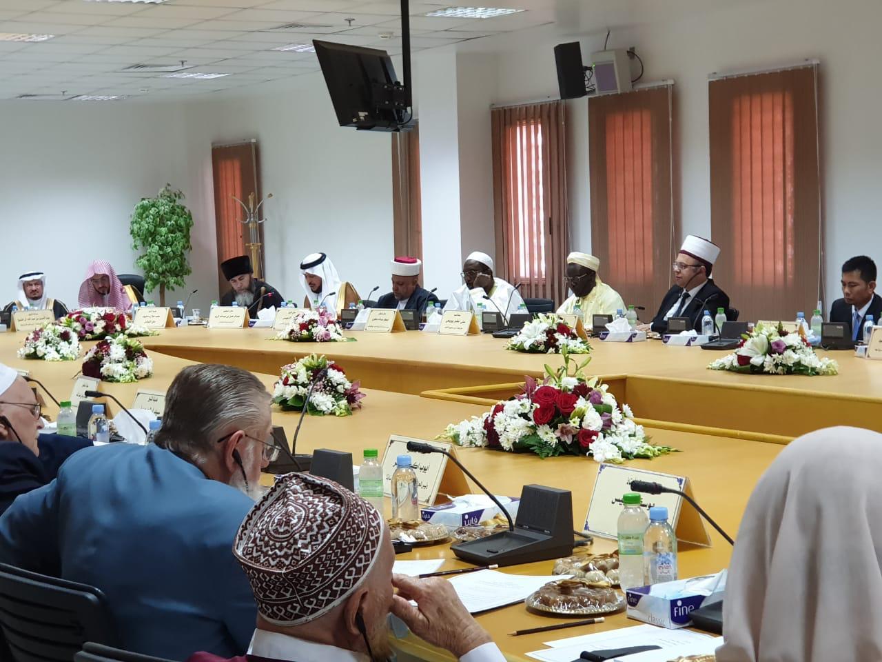 Kreu i KMSH-së zgjidhet si anëtar i Këshillit të Lartë Drejtues të Ligës Botërore Islame