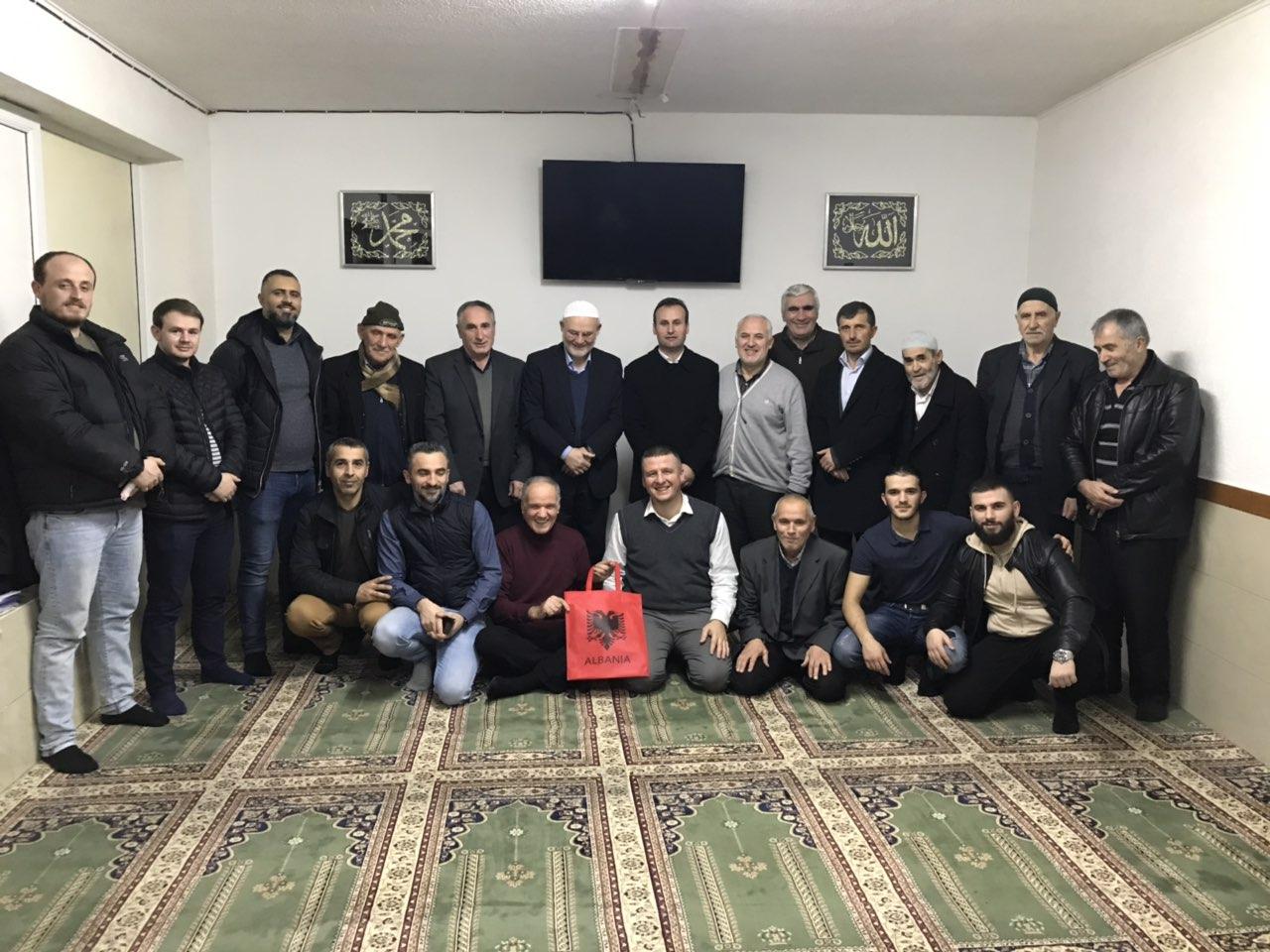 Nënkryetari i KMSH-së vizitë në xhamitë e shqiptarëve në Belgjikë