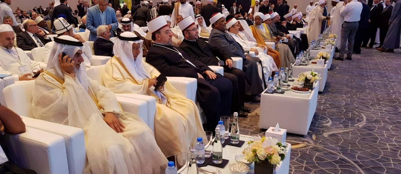 Kryetari i KMSH-së merr pjesë në forumin e pestë në Abu Dhabi për promovimin e paqes