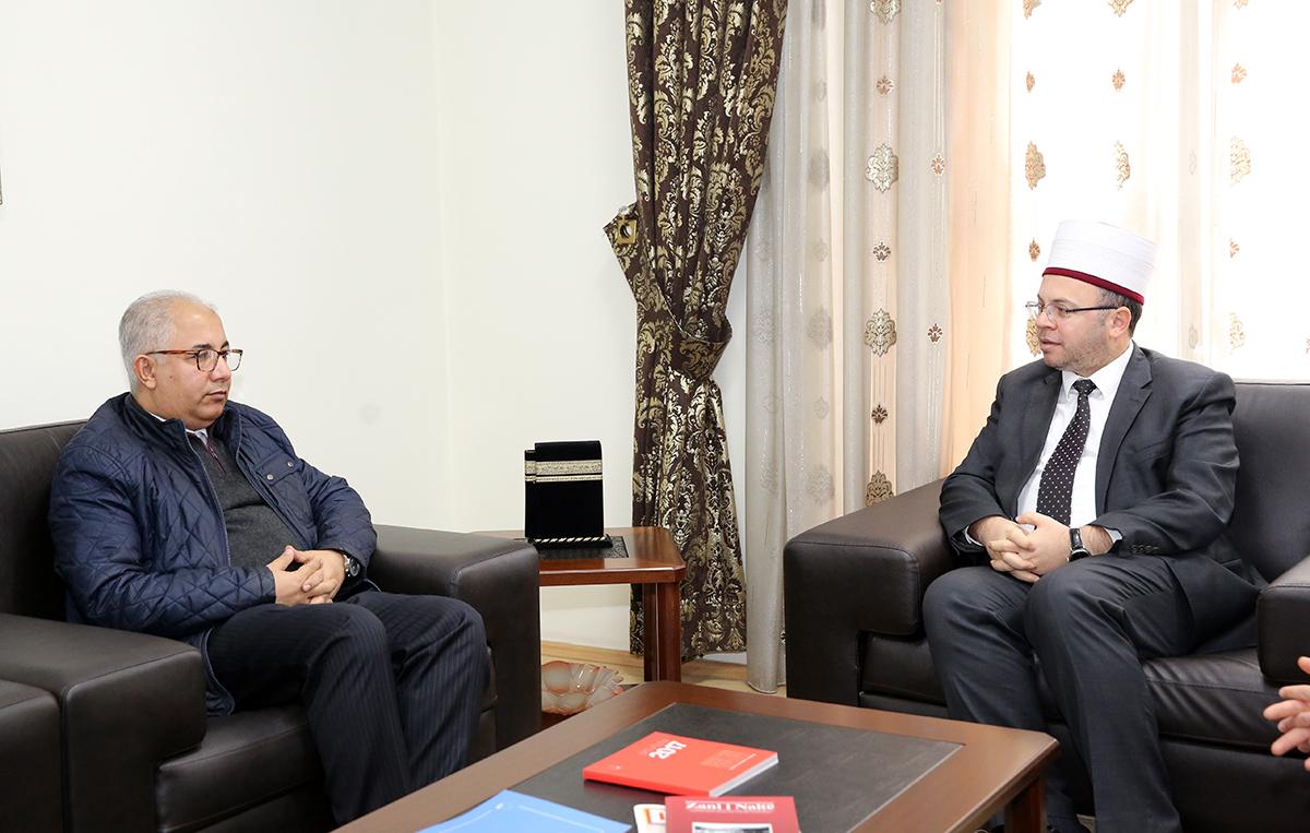 Sekretari i Përgjithshëm i Këshillit Botëror të Komuniteteve Myslimane, viziton KMSH-në