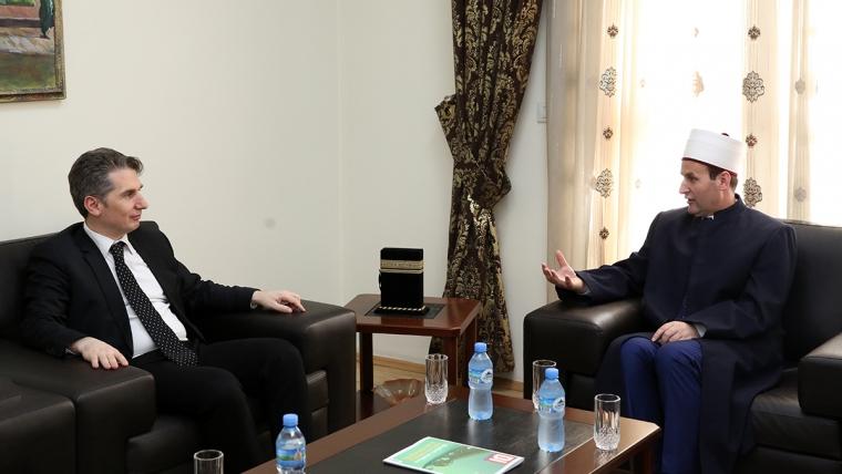 Rektori i KU Bedër viziton Kryetarin e KMSH-së
