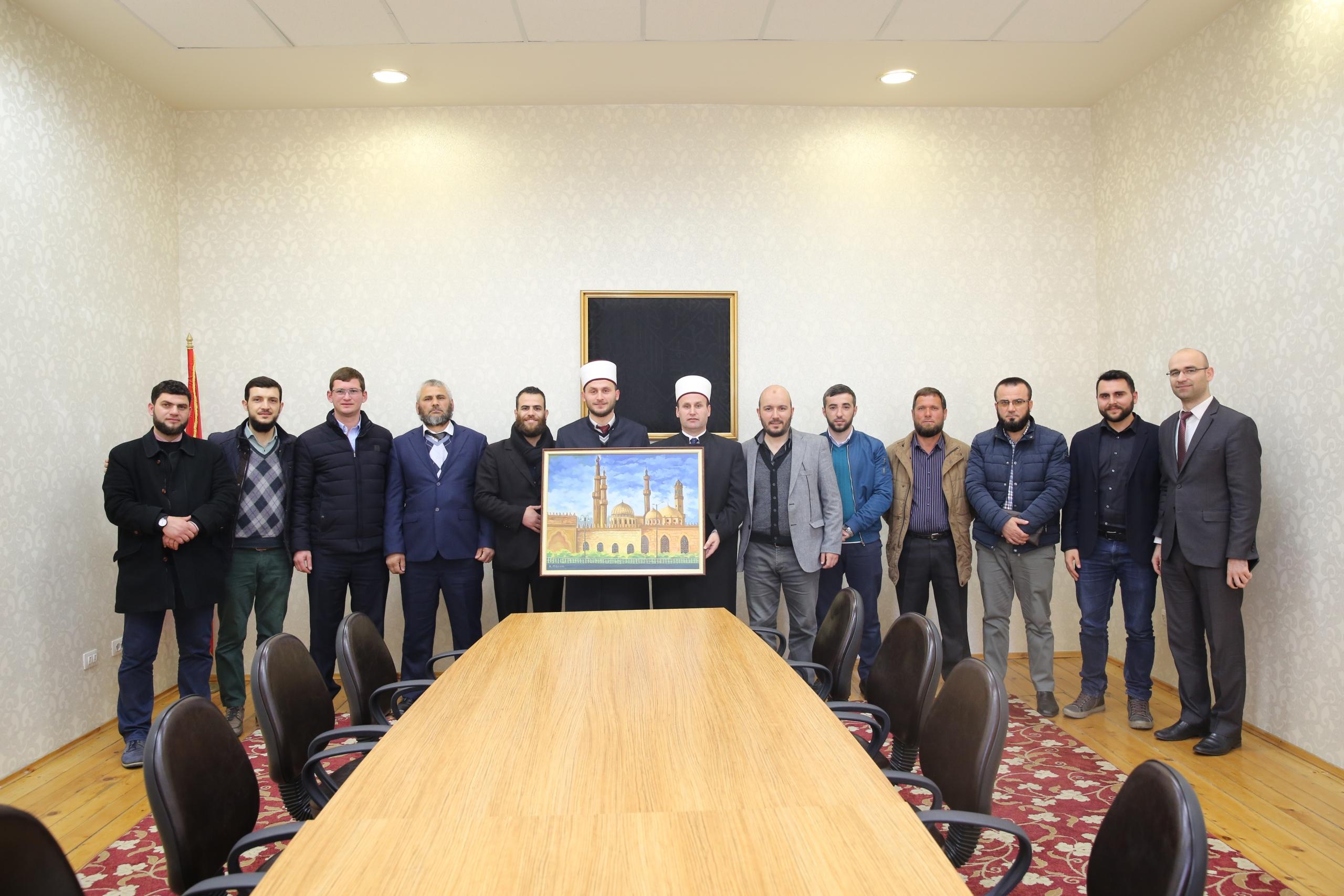 Kreu i KMSH-së takim me myftiun dhe imamët e Beratit