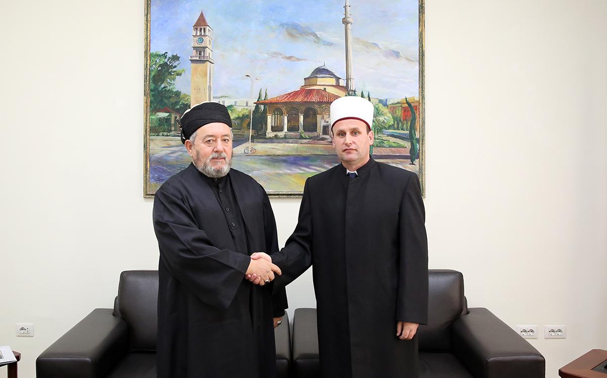 Kryetari i Tarikatit Rifai viziton kreun e KMSH-së