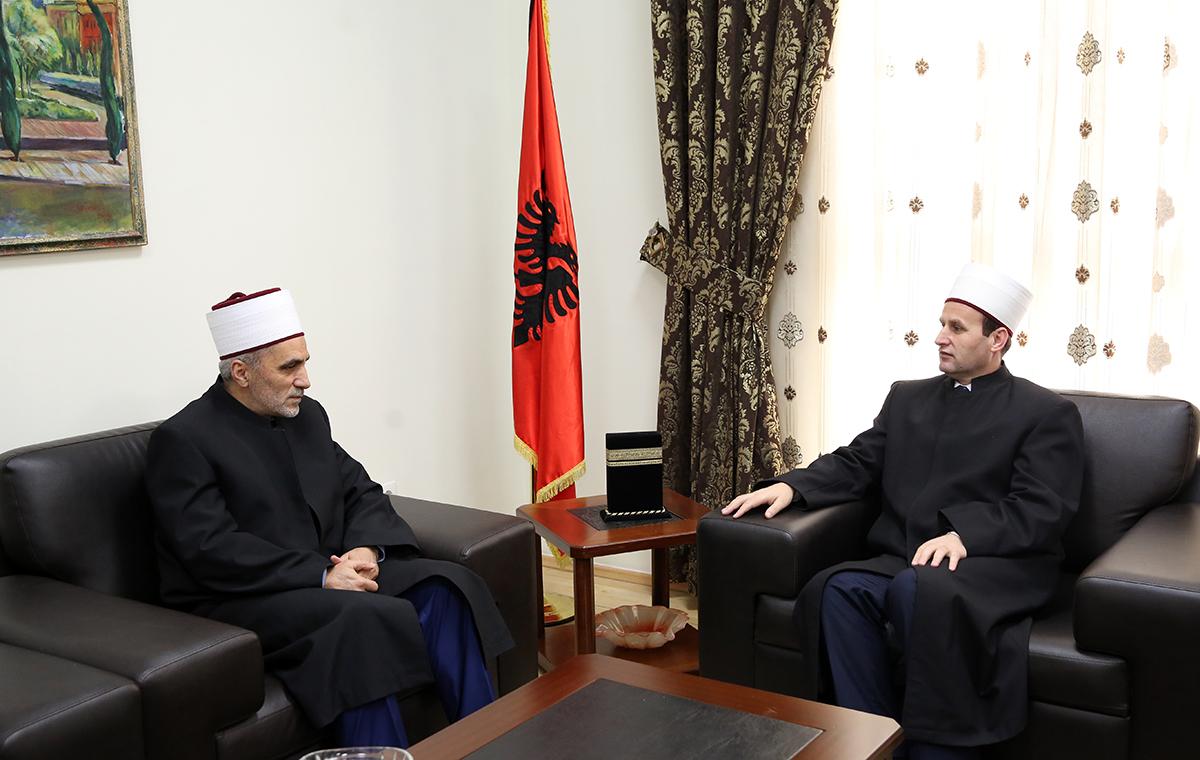 Bashkësia Islame për Preshevën, Bujanovcin dhe Medvegjën vizitojnë KMSH-në