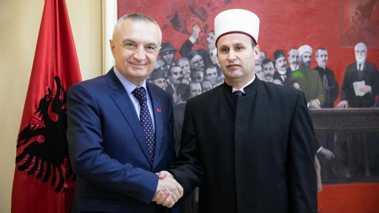 Kryetari i KMSH-së, H. Bujar Spahiu viziton Presidentin e Republikës, Sh.T.Z. Ilir Meta.