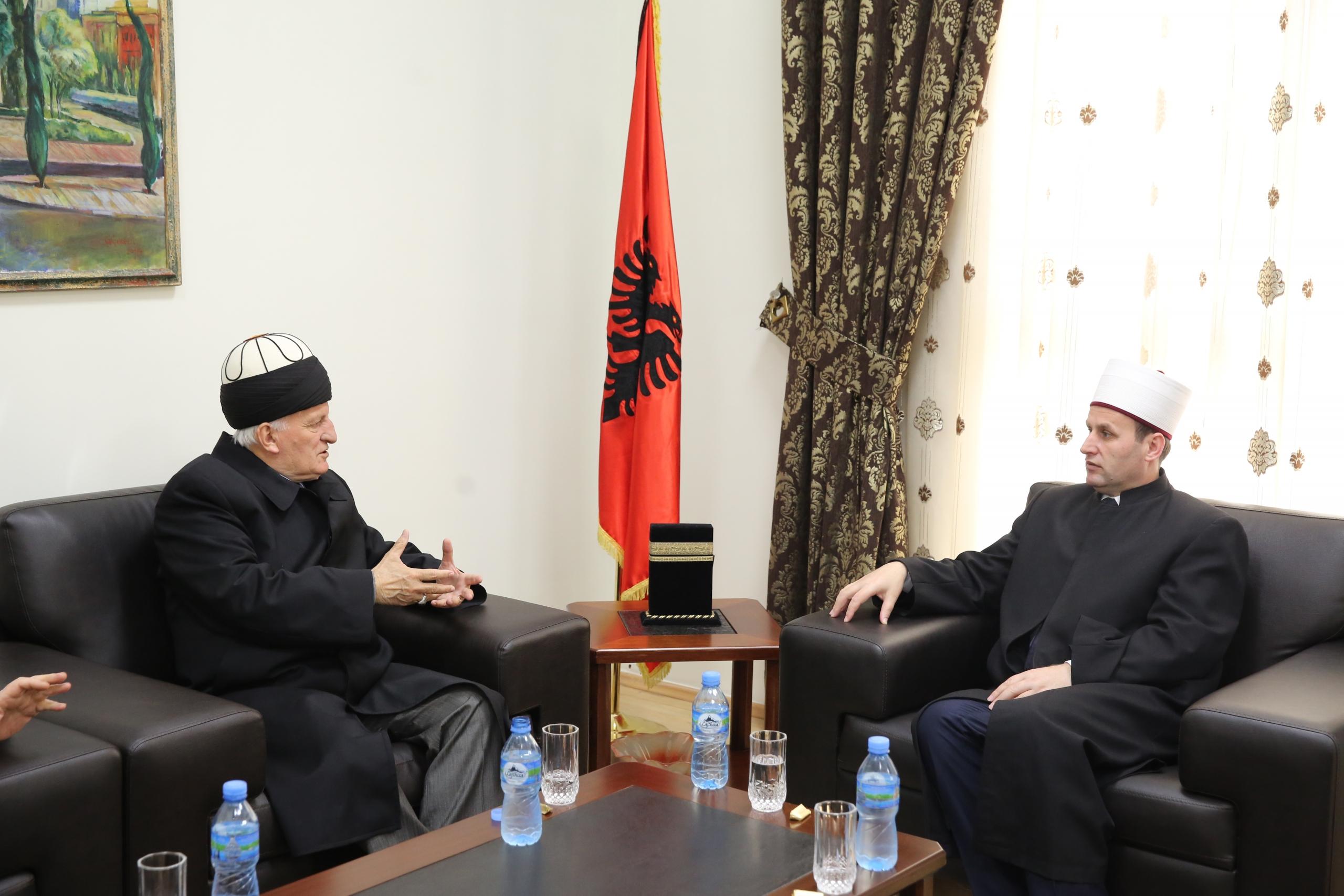 Kryetari i Tarikatit Kadiri viziton kreun e KMSH-së