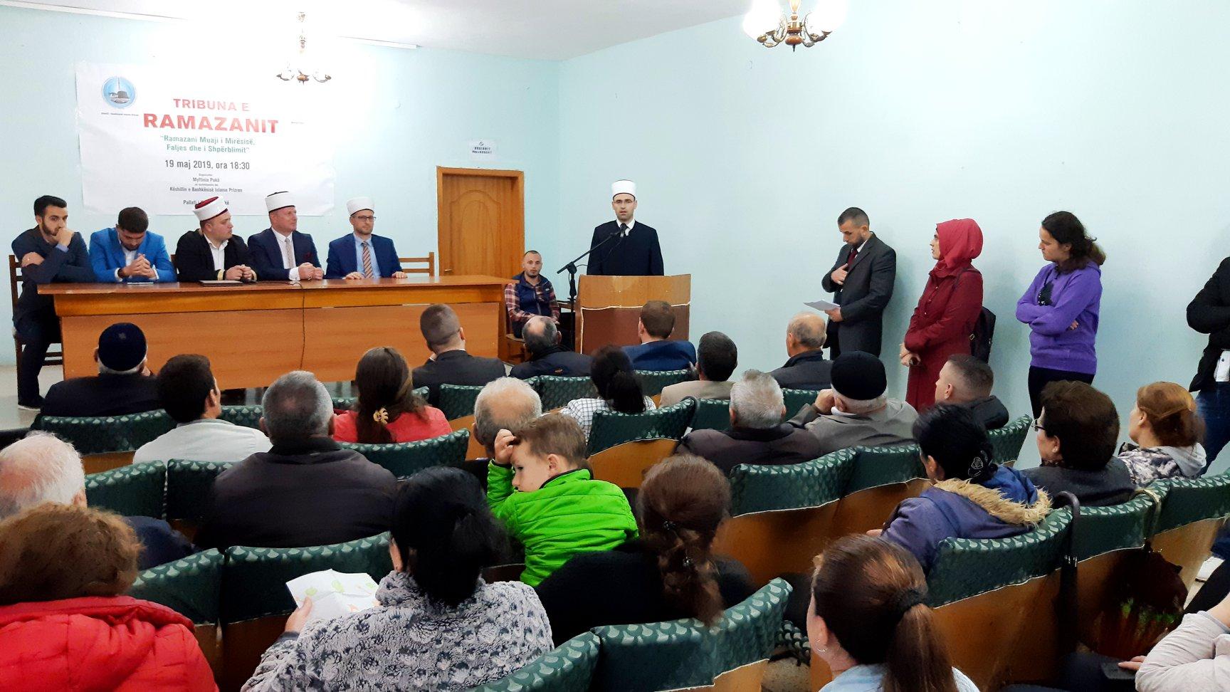Myftinia e Pukës organizon program fetar për Muajin e Ramazanit