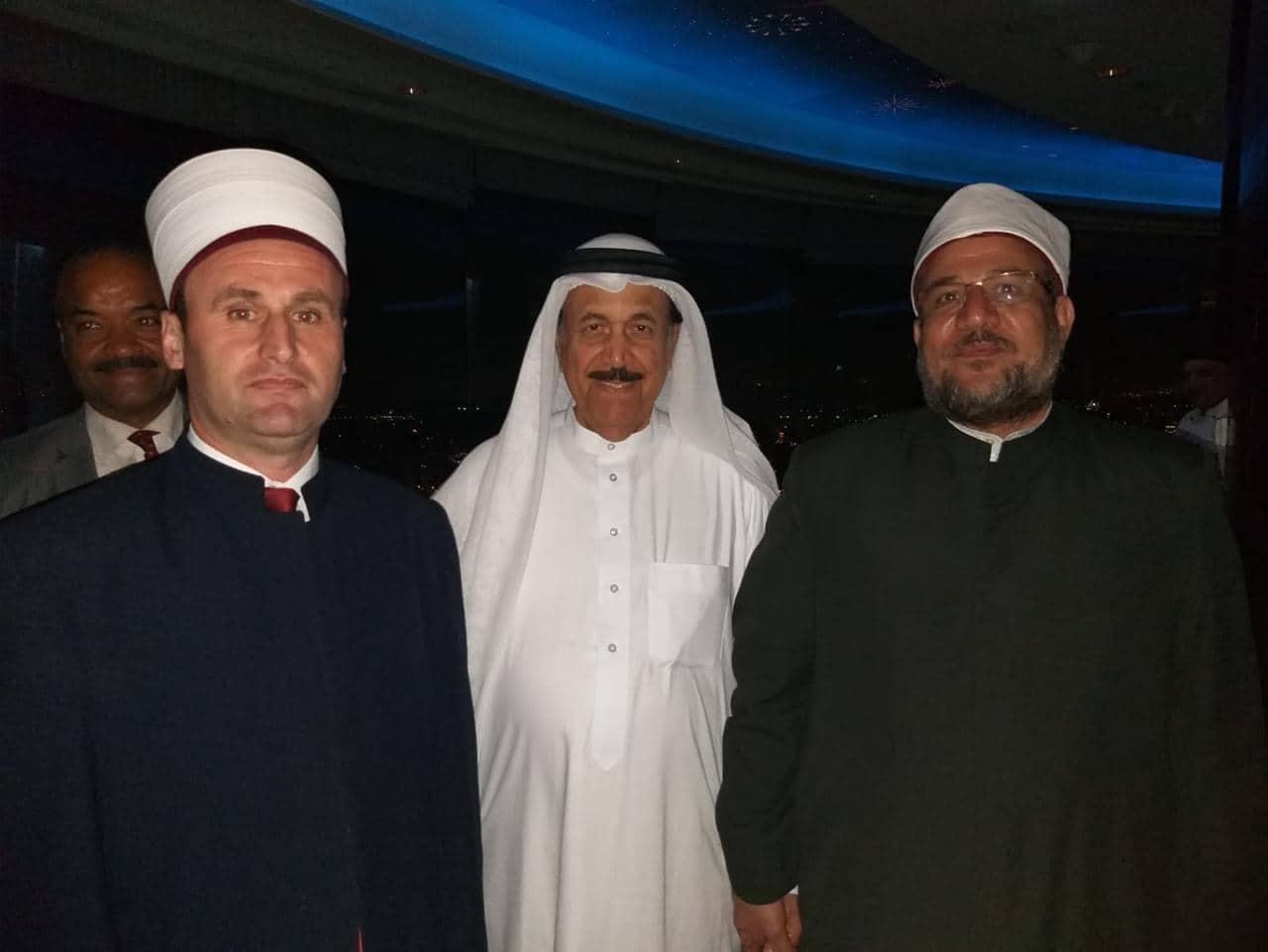 Kreu i KMSH-së takon ministrin e Çështjeve Fetare dhe Vakëfeve në Egjipt