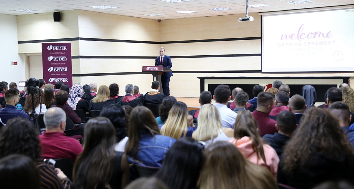 KU Bedër hap dyert për vitin e ri akademik 2019-2020