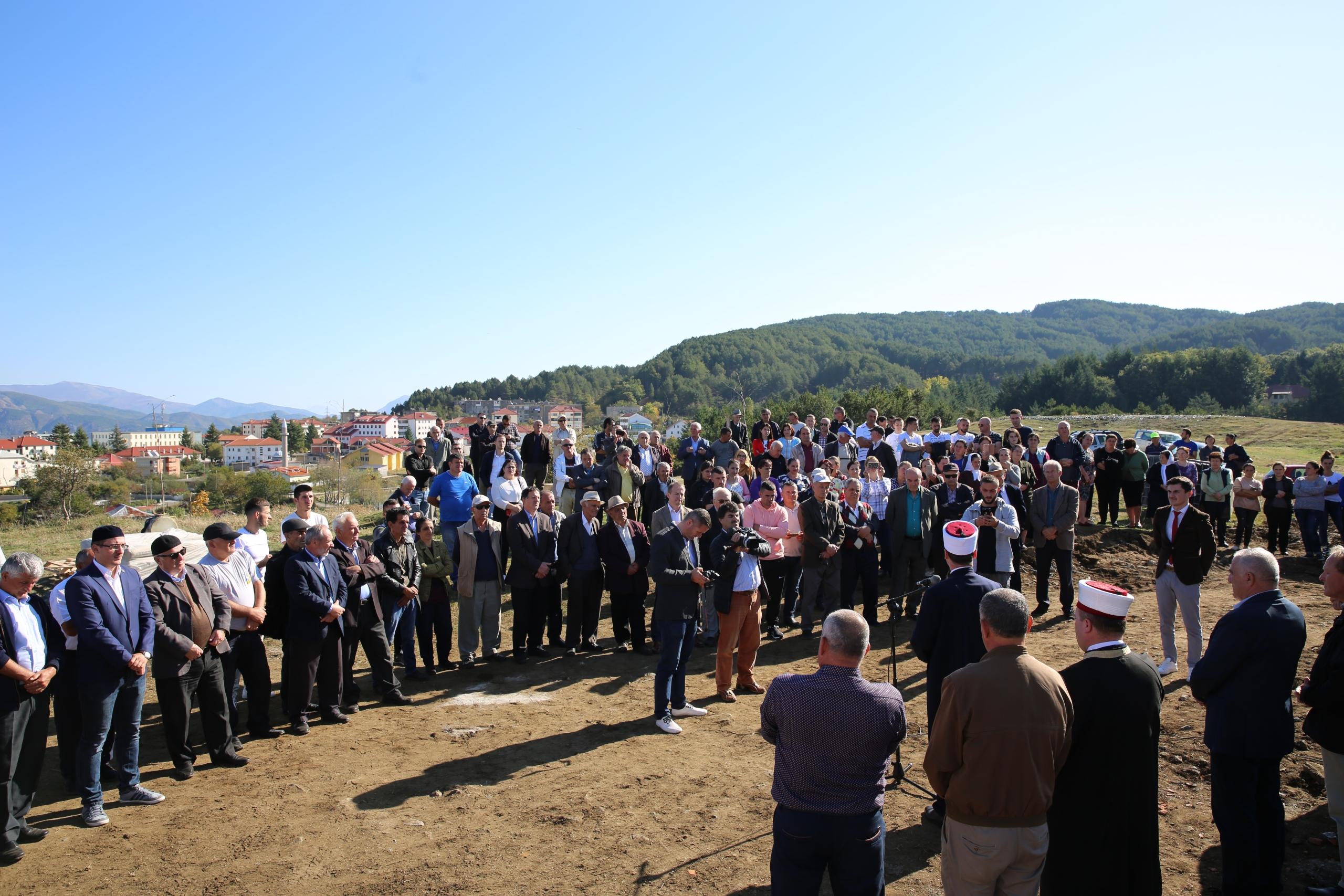 Inaugurohet fillimi i punimeve të Xhamisë së Kodër Hanit në Pukë