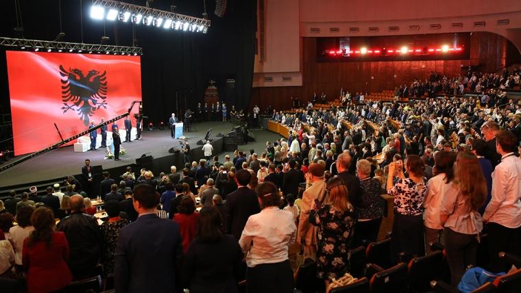 Kryetari i KMSH-së mer pjesë në Samitin e Paqes për Evropën Juglindore