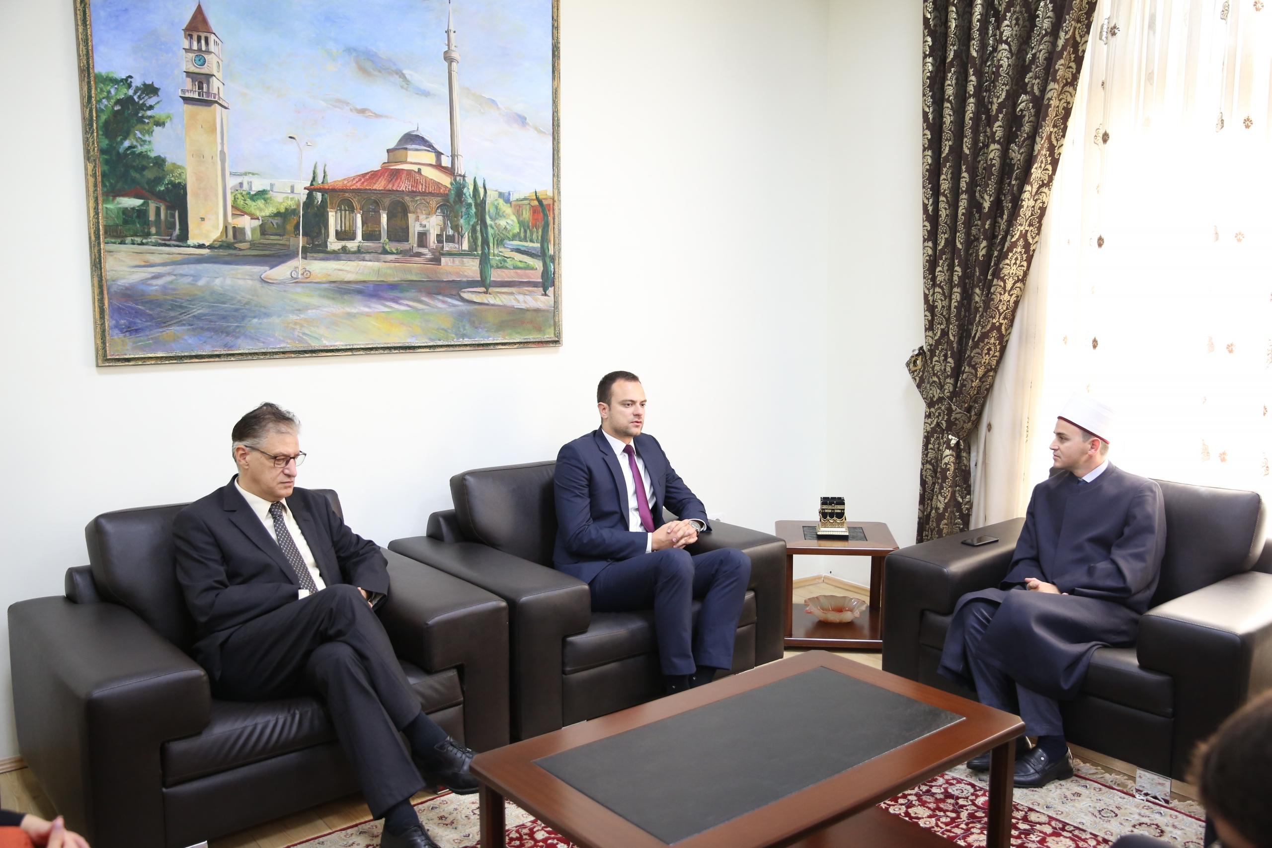 Nënkryetari i KMSH-së pret në takim drejtorin e KMBFGR-së në Maqedoninë e Veriut