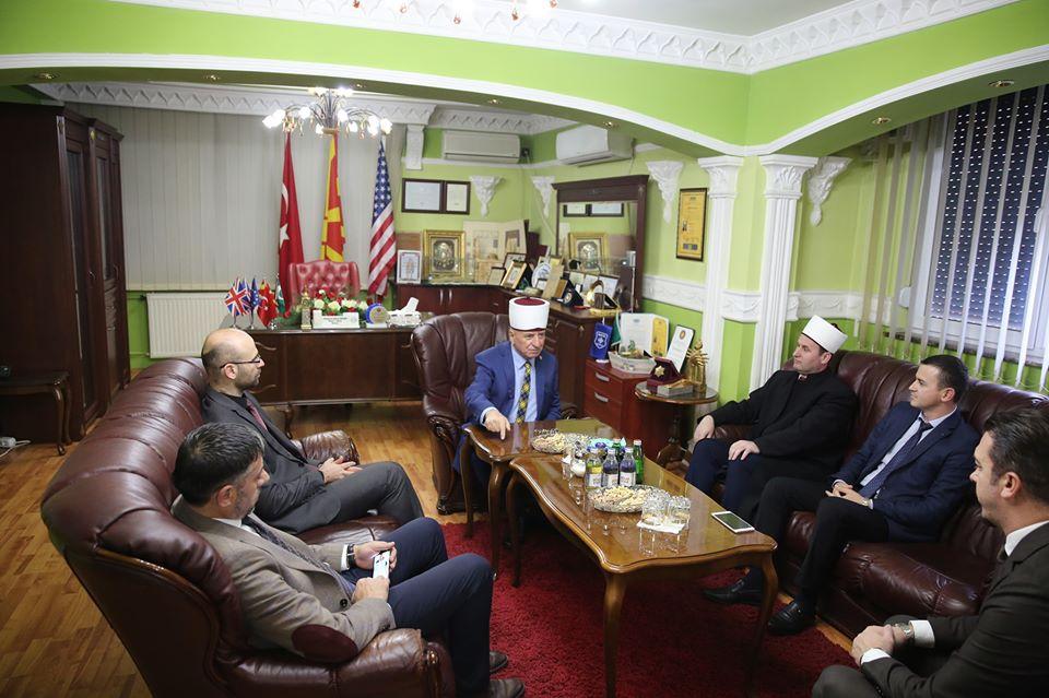Kreu i KMSH-së viziton Bashkësinë Fetare Islame të RMV-së