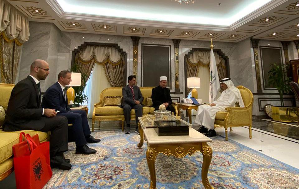 Kreu i KMSH-së takim me presidentin e Bankës Islamike për Zhvillim