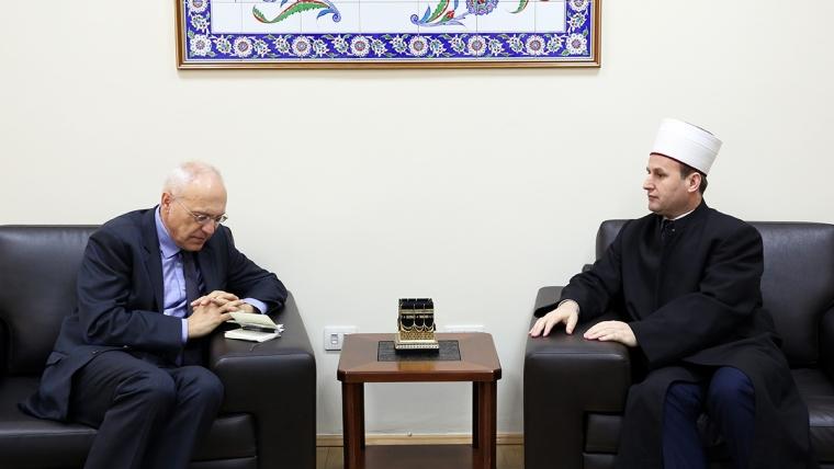 Ambasadori i Gjermanisë në Tiranë, viziton KMSH-në