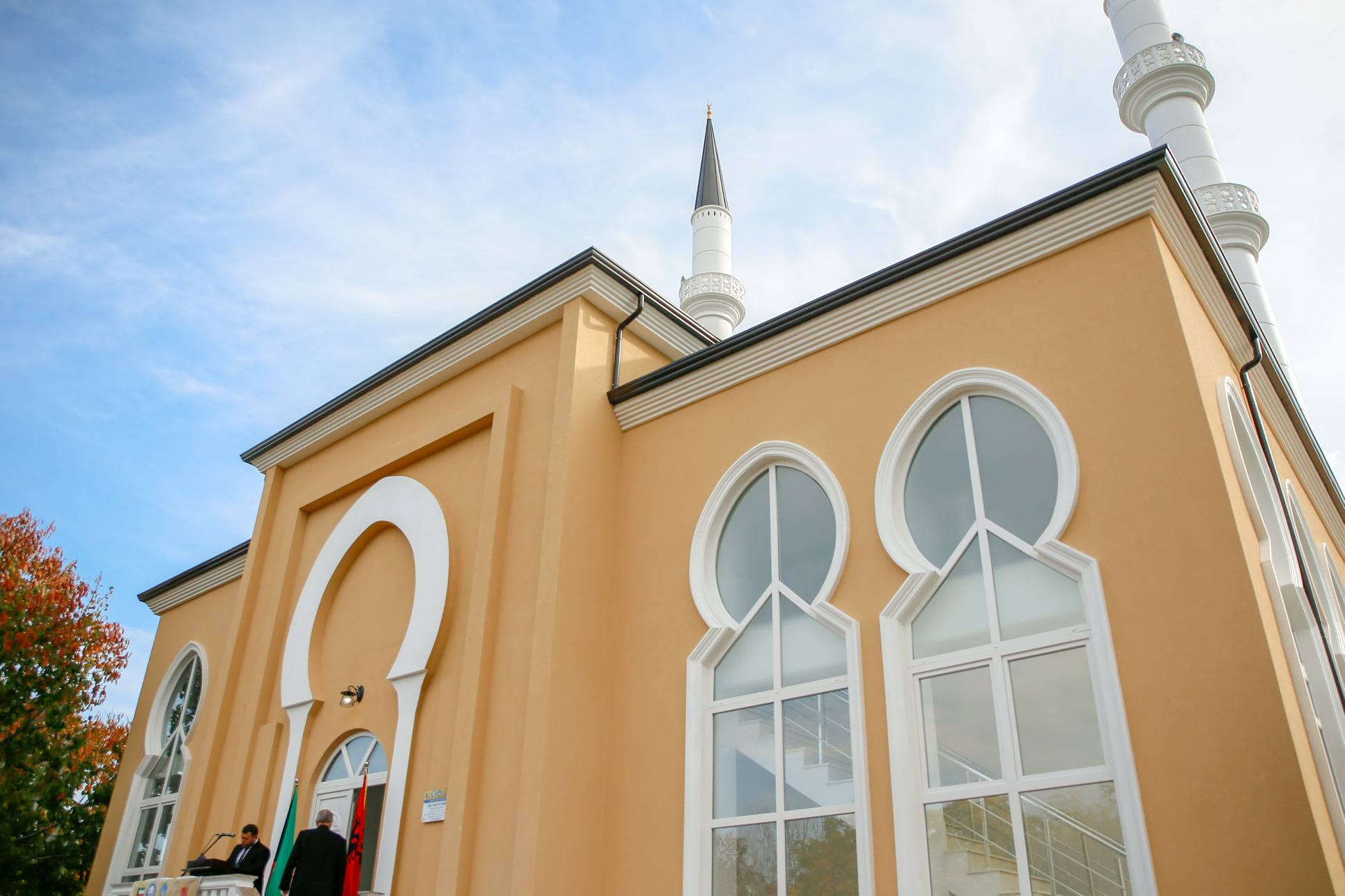 """Përurohet kompleksi dhe xhamia e re e lagjes """"Kiras"""", Shkodër"""