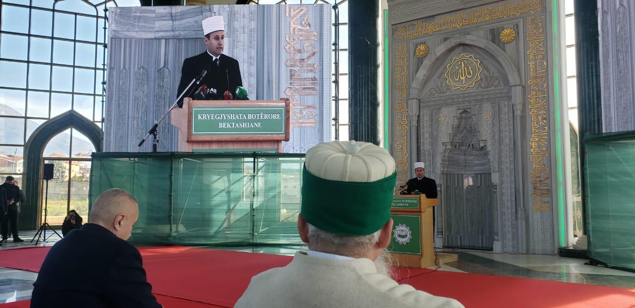 Kryetari i KMSH-së përshëndet përkujtimin e Kongresi të Parë Bektashi