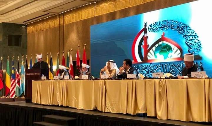 """Kryetari i KMSH-së, H. Bujar Spahiu i ftuar nga Ministri i Çështjeve Fetare të Egjiptit në konferencën """"Dialogu ndërmjet feve dhe kulturave"""""""